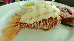 Luscious lobster...