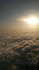 Clouds fm a plane