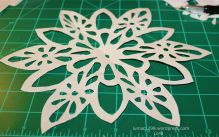 Flower Cut-out Completed