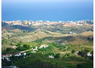 Homes and Mediterranean Sea Mijas
