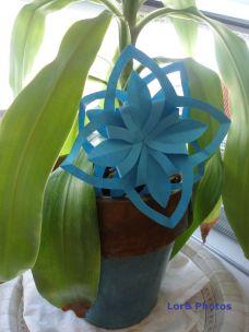 Blue Origami