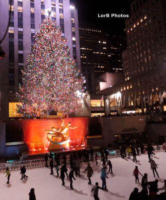 Rockefeller Center Christmas Tree...