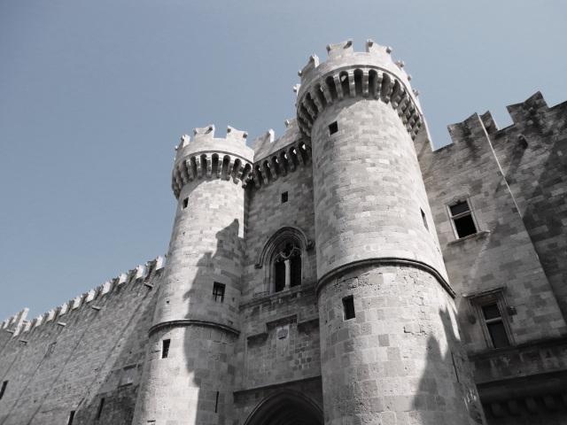 Castle Old Town, Rhodes