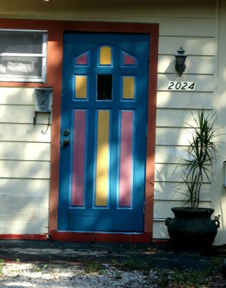 Pink and Yellow Door
