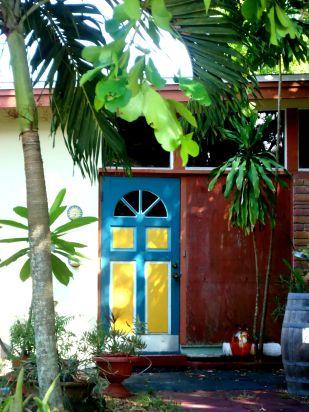 Yellow & Blue Door