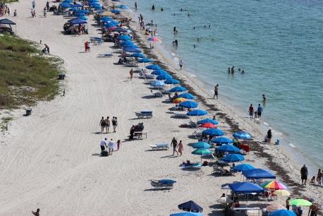 Umbrellas at the Beach